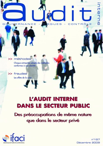 N°197 - déc 2009 L'audit interne dans le secteur public page 1