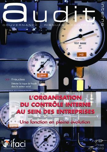 N°199 - avr 2010 L'organisation du contrôle interne au sein des entreprises page 1