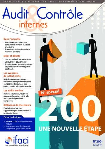 N°200 - juin 2010 Revue Audit & Contrôle internes page 1