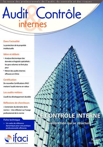 N°203 - fév 2011 Le contrôle interne page 1