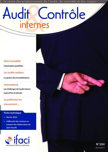 N°204 - avr 2011 Ethique, fraude et corruption page 1