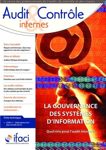 N°206 - sept 2011 Gouvernance des systèmes d'information page 1