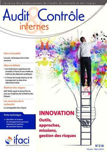 N°218 - fév 2014 Innovation : outils, approches, missions, gestion des risques ... page 1