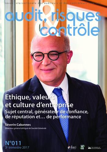 N°011 - sept 2017 Audit de l'éthique, des valeurs et de la culture d'entreprise page 1