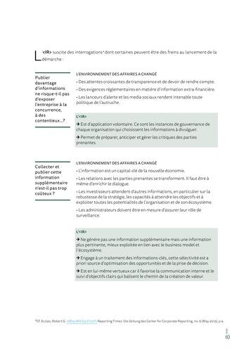 <IR> Piloter et communiquer la création de valeur (IFACI/CNCC) page 13