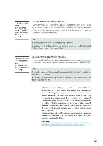 <IR> Piloter et communiquer la création de valeur (IFACI/CNCC) page 15