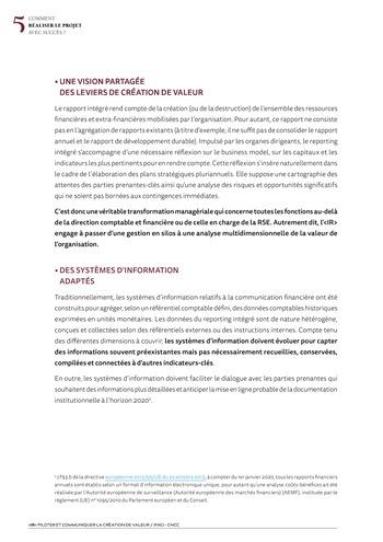 <IR> Piloter et communiquer la création de valeur (IFACI/CNCC) page 18
