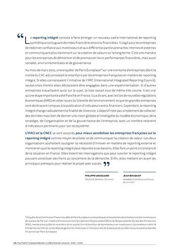 <IR> Piloter et communiquer la création de valeur (IFACI/CNCC) page 2