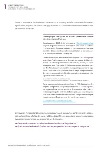 <IR> Piloter et communiquer la création de valeur (IFACI/CNCC) page 6