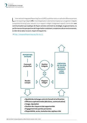 <IR> Piloter et communiquer la création de valeur (IFACI/CNCC) page 8
