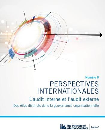Perspectives - internationales - L'audit interne et l'audit externe page 1