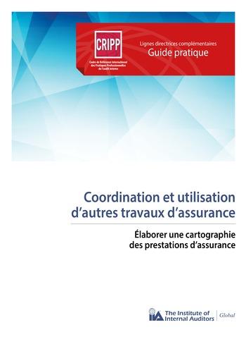 Coordination et utilisation d'autres travaux d'assurance - Élaborer une cartographie des prestations d'assurance page 1