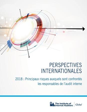 Perspectives internationales - 2018 : Principaux risques auxquels sont confrontés les responsables de l'audit interne page 1