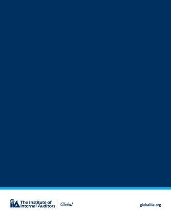 Perspectives internationales - 2018 : Principaux risques auxquels sont confrontés les responsables de l'audit interne page 22