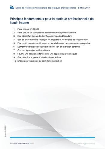Principes fondamentaux page 1
