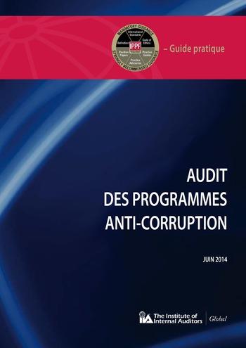 Audit des programmes anti-corruption page 1