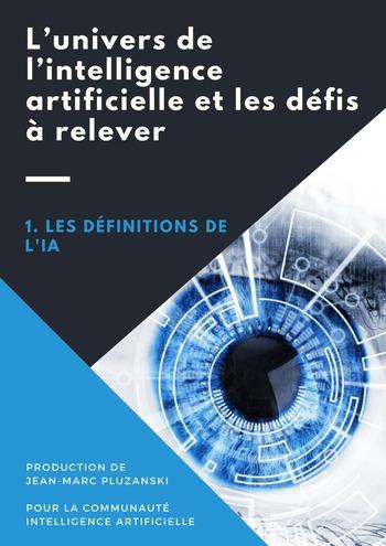 L'univers de l'intelligence artificielle et les défis à relever page 1