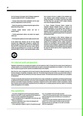 Risk in Focus 2019 page 31
