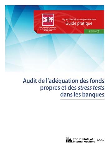 Audit de l'adéquation des fonds propres et des stress tests dans les banques page 1
