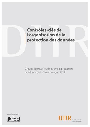 Contrôles-clés de l'organisation de la protection des données / IIA Germany page 1