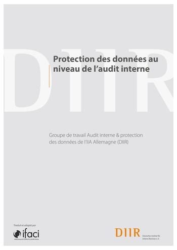 Protection des données au niveau de l'audit interne / IIA Germany page 1