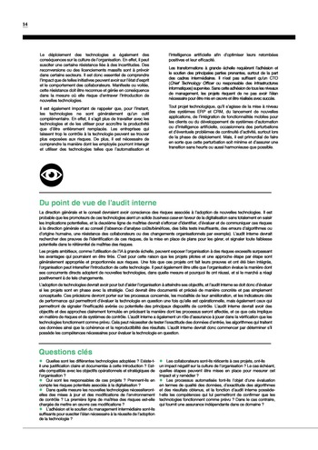 Risk in Focus 2019 page 16