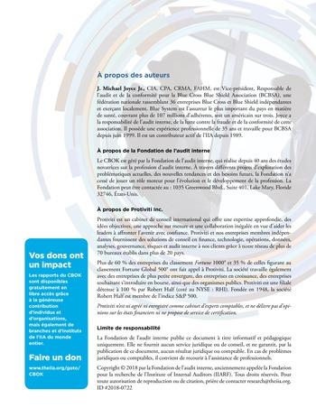 Audit des risques stratégiques page 12
