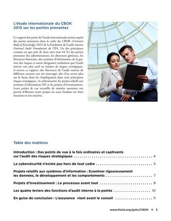 Audit des risques stratégiques page 3