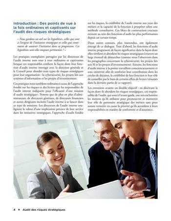 Audit des risques stratégiques page 4