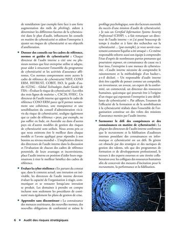 Audit des risques stratégiques page 6