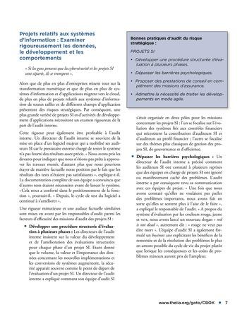 Audit des risques stratégiques page 7
