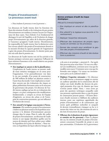 Audit des risques stratégiques page 9