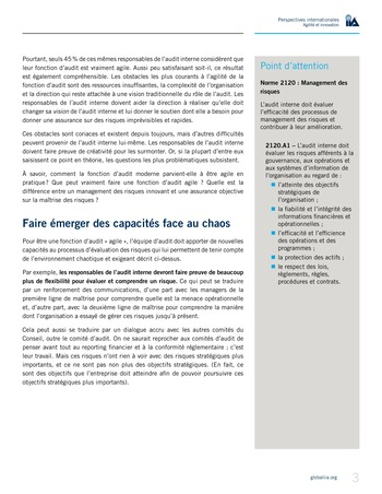 Perspectives internationales - Agilité et innovation page 3