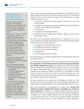 Perspectives internationales - Agilité et innovation page 4