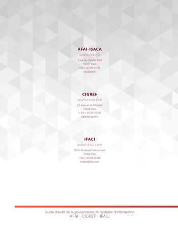 Guide d'audit de la gouvernance du Système d'Information de l'entreprise numérique - 2ème édition page 112