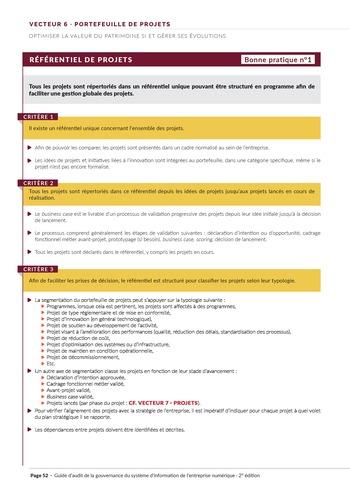 Guide d'audit de la gouvernance du Système d'Information de l'entreprise numérique - 2ème édition page 54