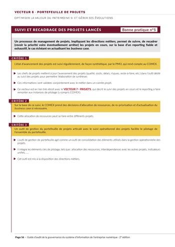 Guide d'audit de la gouvernance du Système d'Information de l'entreprise numérique - 2ème édition page 58