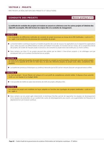 Guide d'audit de la gouvernance du Système d'Information de l'entreprise numérique - 2ème édition page 64