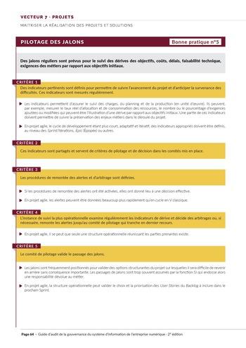 Guide d'audit de la gouvernance du Système d'Information de l'entreprise numérique - 2ème édition page 66