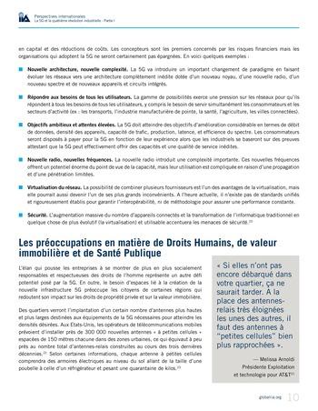 Perspectives internationales - La 5G et la quatrième révolution industrielle (partie 1) page 10