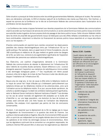 Perspectives internationales - La 5G et la quatrième révolution industrielle (partie 1) page 11