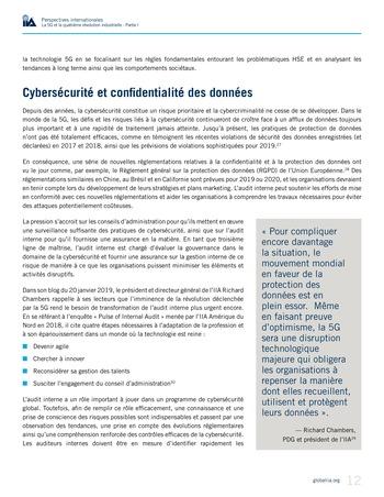 Perspectives internationales - La 5G et la quatrième révolution industrielle (partie 1) page 12