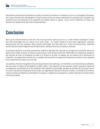 Perspectives internationales - La 5G et la quatrième révolution industrielle (partie 1) page 13