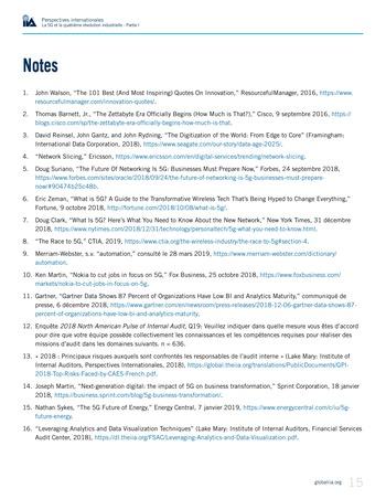 Perspectives internationales - La 5G et la quatrième révolution industrielle (partie 1) page 15