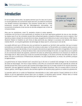 Perspectives internationales - La 5G et la quatrième révolution industrielle (partie 1) page 3