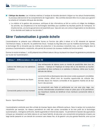 Perspectives internationales - La 5G et la quatrième révolution industrielle (partie 1) page 7