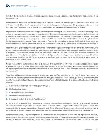 Perspectives internationales - La 5G et la quatrième révolution industrielle (partie 1) page 8