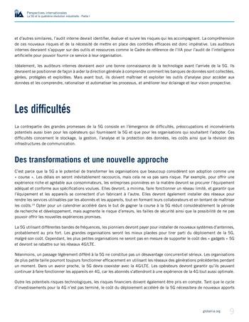 Perspectives internationales - La 5G et la quatrième révolution industrielle (partie 1) page 9