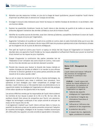 Perspectives internationales - La 5G et la 4ème révolution industrielle (partie 2) page 12