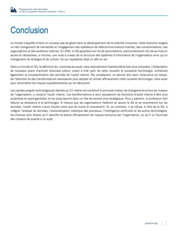 Perspectives internationales - La 5G et la 4ème révolution industrielle (partie 2) page 13